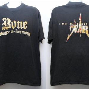 1997 BONE THUGS-N-HARMONY Promo Rap Tee